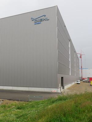 Hochregallagerd Diehl Aerospace GmbH